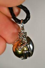 *Harmony Ball* Balinese Pendant +Cord Cat Chime Jewellery