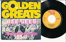"BEE GEES 45 TOURS 7"" BELGIUM MASSACHUSSETTS"