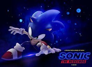 New Sonic The Hedgehog Poster SKU 254