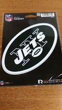 NFL NEW YORK JETS  MAGNET NEW IN PACKAGE CAR MAGNET NICE !