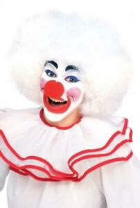 Rubie's White Clown Curly Afro Costume Wig
