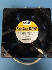 Sanyo Denki San Ace 120W 9WG1224G1J03  24V 0.50A fan - yellow red black wires