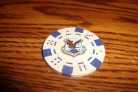 USAF Aerospace Defense Command Poker Chip,Golf Ball Marker,Card Guard    s