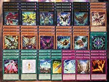 Yugioh Tournament Ready To Play Raidraptor 55 card Deck Force Strix Complete NM
