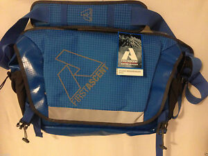 NWT Eddie Bauer Messenger Bag Laptop Bag First Ascent Blue