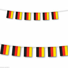 German Flag Bunting Germany Football Olympics Banner Flags 10m / 33ft