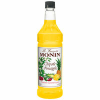Monin Chipotle Pineapple Premium Gourmet Cocktail Syrup (33.8 Ounce, Pack Of 4)