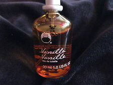 BODY SHOP VANILLA 30ml EAU DE TOILETTE RARE BEAUTY COSMETICS UK SELLER