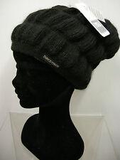 Cappello berretto donna hat woman ENRICO COVERI a.COCAPP col.nero black Italy