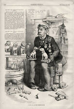 J. G. Bennett of the New York Herald in his Property Room by Thomas Nast  - 1875