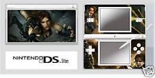 Nintendo Ds or Ds Lite Lara Croft Sticker / Decal