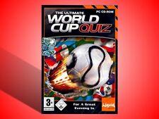 THE ULTIMATE WORLD CUP QUIZ PC NUOVO SIGILLATO!