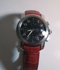 Baume & Mercier BM geneve automatic, stainless, pushbuttons may need cleaning/re