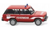 #010503 - Wiking Feuerwehr - Range Rover - 1:87