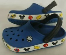 CROCS Disney Mickey Mouse Red/White/Black Unisex Childs Clogs - SIZE C11