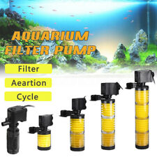 3 in 1 Multi-Funtional Water Fish Tank Aquarium Filter  Submersible  New