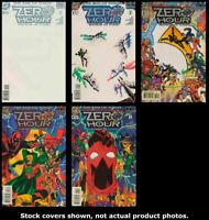 Zero Hour: Crisis in Time 0 1 2 3 4 Complete Set Run Lot 0-4 FN/VF