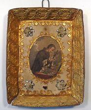 Antico oggetto devozionale S. Casimiro rosario crocefisso giglio