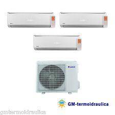 Condizionatore Inverter Trial Split Gree Lomo 9+9+12 9000+9000+12000 Btu A++ 21