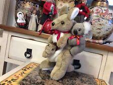 "Ascool Kangaroo Joey Koala Plush Stuffed Animal Australia Souvenir, 13"" EUC"