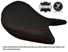 GRIP & CARBON RED ST CUSTOM FITS SUZUKI GSX-S 1000 15-17 FRONT SEAT COVER