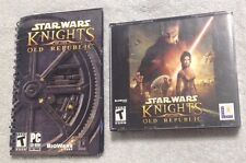Star Wars Knights of the Old Republic - PC by Lucas Arts 4-Disc & Booklet (Nice)