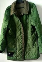 BARBOUR  LIDDESDALE  Green Khaki Mens Quilted Coat jacket Printed  SIZE L.