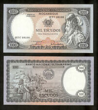 Mozambique 1000 Escudos 1972 Unc pn 112b low number RARE Note