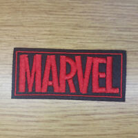 Marvel Logo Patch 3 1/4 inches wide
