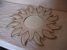 Miroir 14 cm de diamètre en forme de soleil 39 cm de diamètre