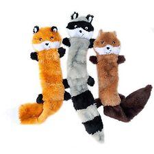 ZippyPaws Skinny Peltz No Stuffing Squeaky Plush Dog Toy Large