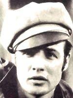 PRINT POSTER PAINTING PORTRAIT ACTOR MARLON BRANDO WILD ONE BIKER CAP NOFL0068