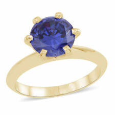 Tanzanite Simulated Fine Gemstone Rings