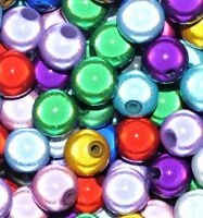 wholesale  1000 pcs acrylic miracle beads , round, 4 mm, option for colours