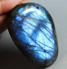 160g Amazing Royal Blue Flash Labradorite Spectrolite Freeform Stone