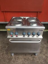 Stott and Benham.Electric 4 Ring Oven Commercial Catering Mint Condition Vat Inc