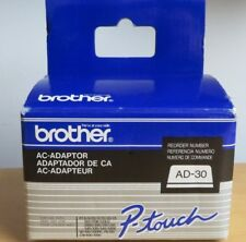 Brother AD-30 AC Adapter for P-Touch Label Maker 7V Power Supply - New