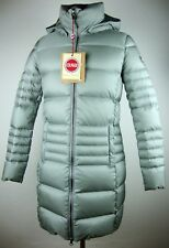 COLMAR ORIGINALS  ODISSEY Down Coat Daunen Mantel Damen Silber Gr.32 NEU+ETIKETT