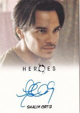 2010 Rittenhouse Shalim Ortiz Heroes TV Show Autographed Card