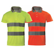 Polo short Sleeve High Visibility' Aid Road Dustmen 2 With Blue Tech