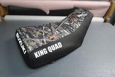 Suzuki King Quad LTF250 1987-98 Camo Top Logo Seat Cover #nw2847mik2846