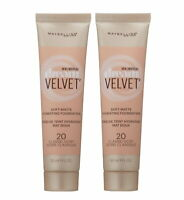 2 X 20 CLASSIC IVORY Maybelline Dream Velvet Soft-Matte Hydrating Foundation