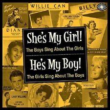 She's My Girl! He's My Boy! 2-CD NEW SEALED Fats Domino/Patti Page/Bobby Darin+