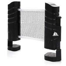 Tischtennisnetze ausziehbar Tischtennis schwarz einstellbare 220cm Einziehbares