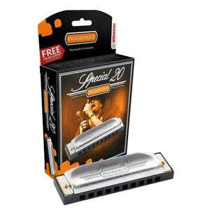 Hohner Special 20 Harmonica (Mouth Organ/Harp) - All Keys Available FREE UK P&P