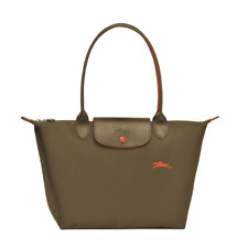 Authentic Longchamp Le Pliage Club Tote Bag Small Khaki Green