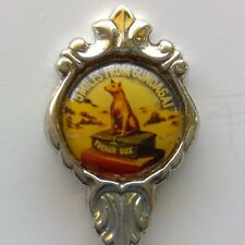5 Miles From Gundagai Tucker Stuart Silverplated Souvenir Spoon Teaspoon (T106)