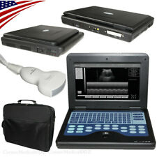 CE Approved,Portable Ultrasound Scanner Machine Laptop System 3.5M Convex Probe
