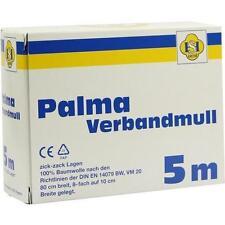 PALMA Verbandmull 80 cm 5 m zickzack Lagen 1 St