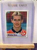 Panini Rookie Miroslav Klose 1. FC Kaiserslautern Deutschland Fussball 2002 #241